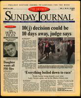 The Detroit Sunday Journal:: August 3-9, 1997