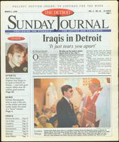 The Detroit Sunday Journal:: March 1, 1998