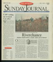 The Detroit Sunday Journal:: March 22 - 28, 1998