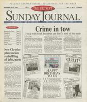The Detroit Sunday Journal:: November 16-22, 1997