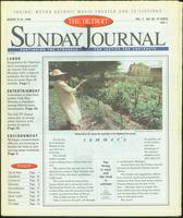 The Detroit Sunday Journal:: August 9-15, 1998