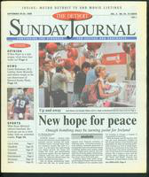 The Detroit Sunday Journal:: September 20-26, 1998