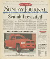 The Detroit Sunday Journal:: January 11-17, 1998