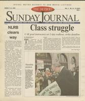 The Detroit Sunday Journal:: March 7-13, 1999