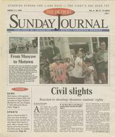 The Detroit Sunday Journal:: August 1-7, 1999