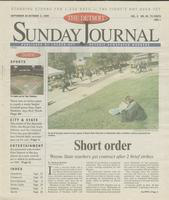 The Detroit Sunday Journal:: September 26 - October 2, 1999