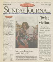 The Detroit Sunday Journal:: October 24 - 30, 1999