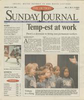 The Detroit Sunday Journal:: January 17 - 23, 1999