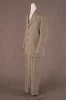 Suit of Coat, Vest, and Trousers, about 1920-1940