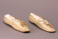 Wedding Slippers, about 1830