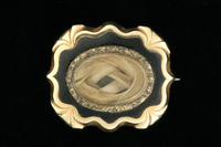 Brooch, about 1855
