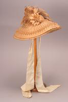Bonnet, about 1850