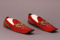 Men's Slippers, about 1858