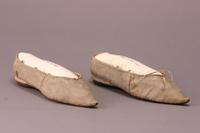 Women's Slippers, about 1800