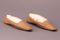 Women's Slippers, 1840-1850
