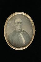 Daguerreotype Brooch, about 1850