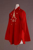 Baseball Uniform Shirt, about 1865-1885
