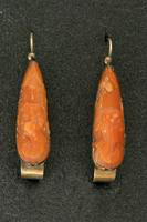 Coral Earrings, about 1910