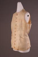 Waistcoat, about 1780-1840