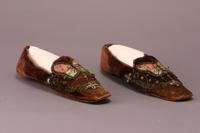 Men's Slippers, 1830-1860