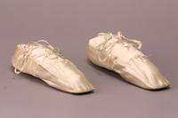Women's Formal Slippers, about 1840