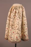 Quilted Petticoat, about 1800-1825