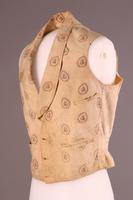 Waistcoat, about 1870
