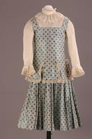 Two Piece Silk Taffeta Girl's Outfit, about 1892