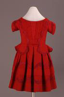 Boy's Red Wool Dress, about 1850