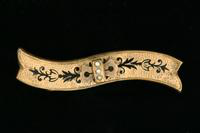 Lace Pin, about 1880