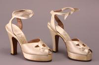 Shoes, about 1930-1950