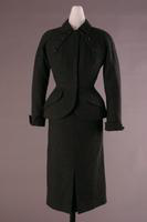 Wool Flannel Suit with Raglan Sleeves, 1950