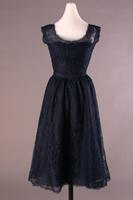 Sleeveless Lace Cocktail Dress, 1953-1956
