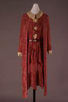Brick-Red Silk Dress, 1925-1926