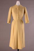 Three Piece Knitted Wool Dress Ensemble, 1951-1952