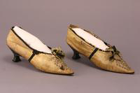 Women's Shoes, about 1800
