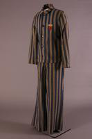 Concentration Camp Uniform, about 1940-1945