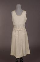 Sleeveless tennis dress from the mid '20s or early '30s