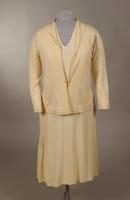 Womn's three piece wool knit tennis dress from the late '20s or early '30s