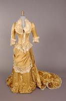 Two piece dress from the nineteenth century