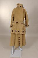 Women's four piece tobogganing outfit from the early twentieth century