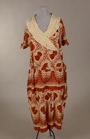 Rayon daydress from the 1930s