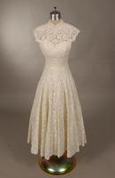 Cocktail dress from the 1950s