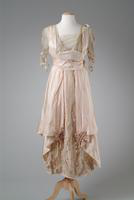 Silk Taffeta Evening Gown, 1914