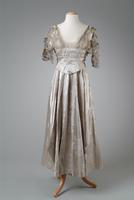 Silk Brocade Evening Gown, 1914