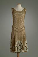 Lace Evening Gown Shell, 1924
