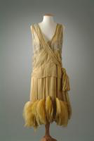 Silk Chiffon Evening Gown, 1927