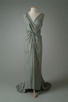Beaded Metallic Tissue Evening Gown, 1932