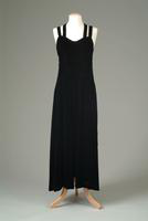 Black Silk Velvet Evening Gown, 1936