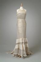 Silk Organdy Party Dress, 1934
